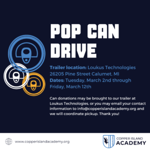 pop can drive